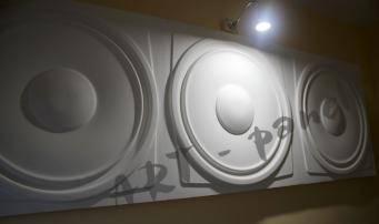 DINAMICO -  гипсовые панели с 3Д-эффектом в отделке офисного помещения