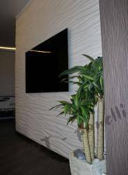 iL MARE DUO - двойные гипсовые панели с 3Д-эффектом в отделке квартиры