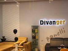 """Монтаж гипсовых панелей """"Risonanza"""" в магазине элитной мебели """"Divanger"""""""